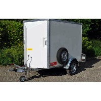 Single Axle Box Van Trailer 6ft -7ft (internal length)